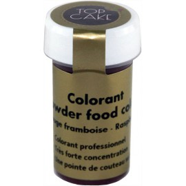 Colorant Alimentaire Poudre Rouge Framboise Top Cake