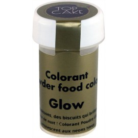 Colorant Alimentaire Poudre Glow fluo Top Cake