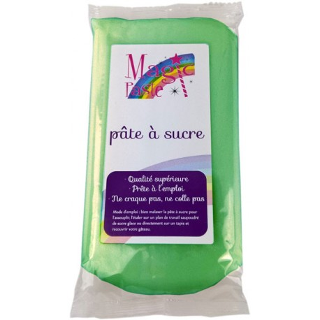 Pâte à sucre Magic Paste VERTE 250g