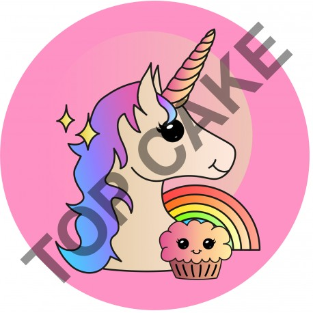 Feuille Azyme Licorne