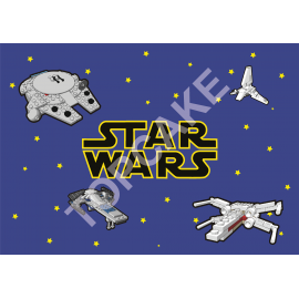 Feuille Azyme Star Wars A4